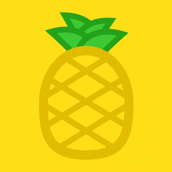 Pineapple Illustration by Mark Sheraton