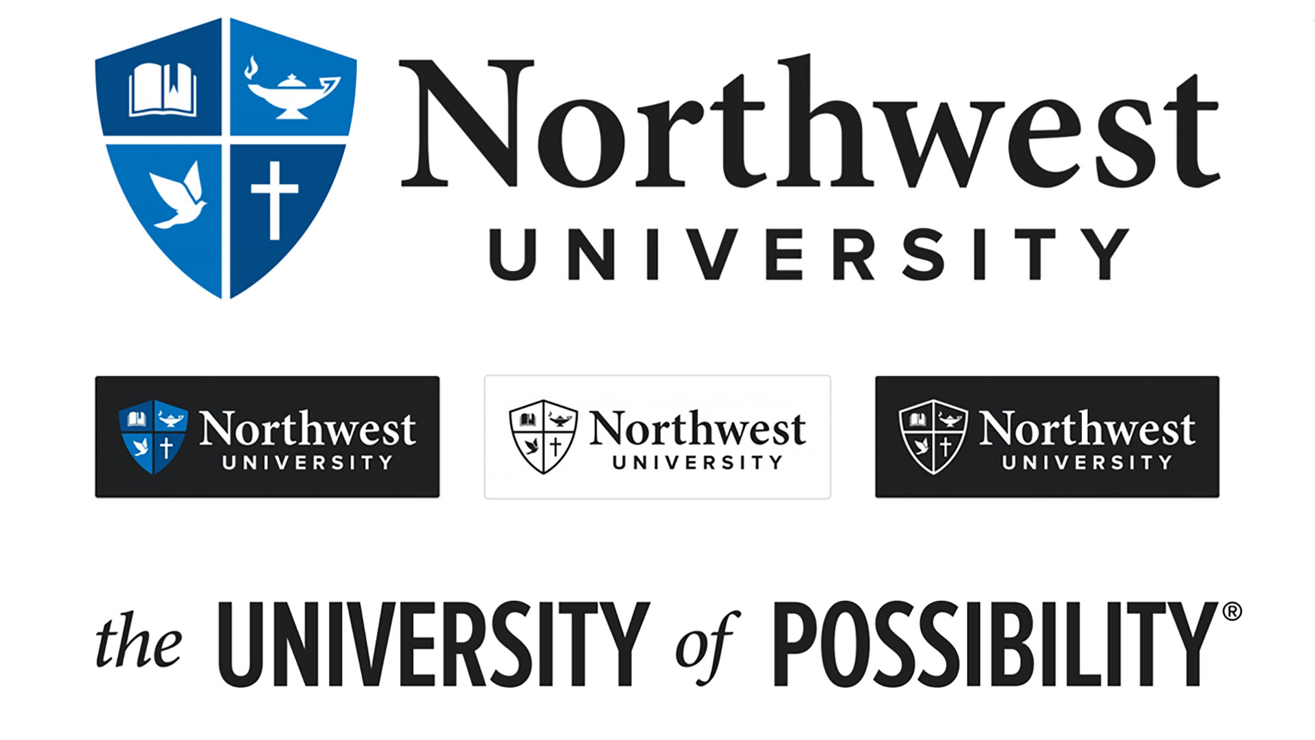 Northwest University Logo and Branding by Mark Sheraton